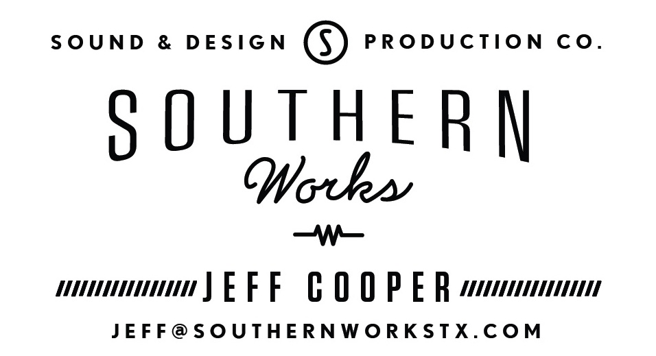 Southern Works Business Card